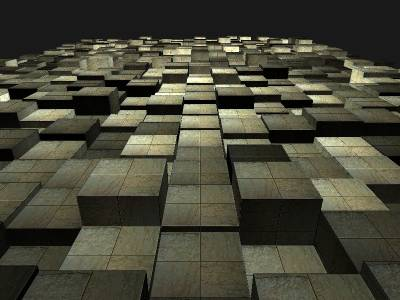 New cube floor